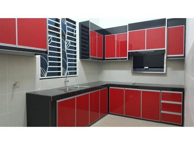 Kabinet dapur dan almari pakaian BMF