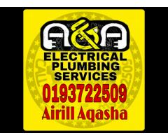 Plumber Alam Budiman 0193722509-Airill Electrician Alam Budiman