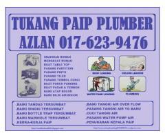 tukang paip plumber 0176239476 wangsa maju