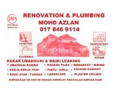 plumbing and renovation 0178469114 mohd azlan wangsa maju