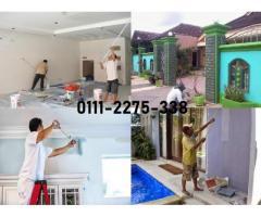 tukang cat rumah 01112275338 taman melati