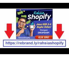 Rahsia Shopify   Panduan Bisnes Buat Duit USD Dengan Shopify