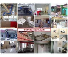 plumber and renovation 01112275338 azis taman permata
