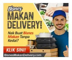 Berniaga online dan delivery
