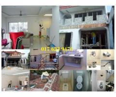 renovation dan plumber 0176239476 azlan afik wangsa maju